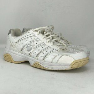 K-Swiss Men's White Shock Spring Shoes Size US 9